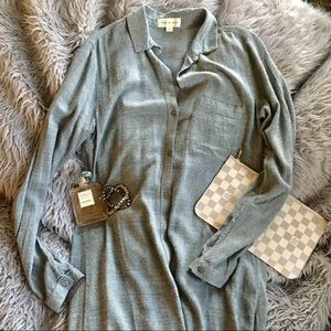 Anthropologie Cloth & Stone Shirt Dress